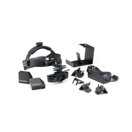 13500: Insight Binocular Indirect Ophthalmoscope System, includes two Lithium Rechargeable Battery Packs, Charging Transformer and Wall Bracket